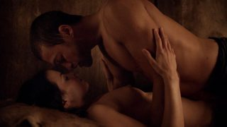 """Katrina Law Nude Sex """"Spartacus Blood and Sand"""" 2010"""