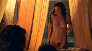 "Lucy Lawless Nude Sex ""Spartacus Gods Of The Arena"" 2011"