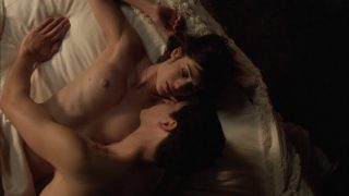 """Lizzy Caplan Nude Sex """"Masters Of Sex"""" 2013"""