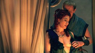 "Jaime Murray Nude Sex ""Spartacus: Gods of the Arena"" 2011"