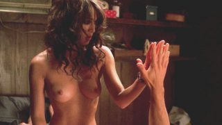 "Lizzy Caplan Nude Sex ""True Blood"" 2008"