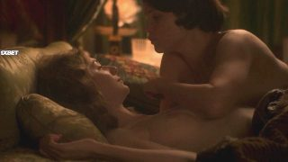 "Elizabeth Debicki Nude Sex ""Vita & Virginia"" 2018"
